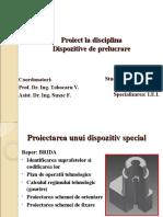 Proiect La Disciplina 2003