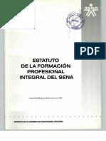 Estatuto de la formación_profesional_integral SENA