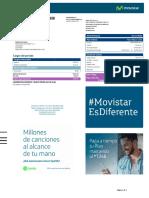 Factura Movistar