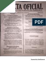 Gaceta Oficial 41129 Dias No Laborables 10-11 y 12 de Abril 2017.PDF
