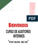 1 MODULO N°1 NTCGP - MECI 1000 ESAP 2012