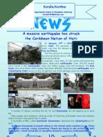 A massive earthquake has struck the Caribbean Nation of Haiti