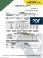 35-36 Certificados de Calidad Qb177550-Qb177549
