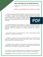 Desarrollo Tarea 3 Historia de Las Ideas Politicas