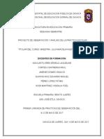 Proyecto-primaria Benito Juárez, San José.
