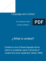 Language and Context Ppt (1)