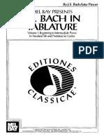 sheet music - bach for classic guitar - sheet scores partitions spartiti chitarra guitare classiq.pdf