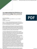 Der. Procesal - Cargas Dinamicas Probatorias