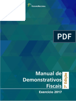 Manual de Demonstrativos fiscais