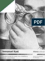 Kant-Fundamentación para una metafísica de las costumbres (Alianza).pdf