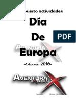 Proyecto Dia de Europa 2016
