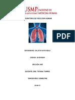 Informe Laboratorio de Neumoficiologia