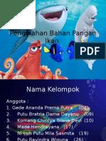 Pengolahan Bahan Pangan Ikan
