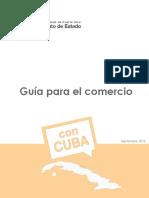 Guía Para Comercio Con Cuba