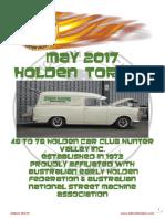 May 2017 Holden Torque