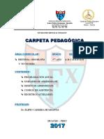 Carpeta Pedagogica 2017