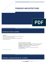 Climate Responsive Architecture
