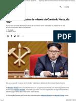 Cyberataque Coreia Norte Usa