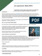 Asesordecalidad.blogspot.com-Procedimiento Contexto Organización Matriz DAFO