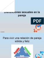 Disfunciones Sexuales en La Pareja