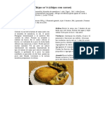Comidas Tipicas Paraguayas
