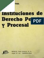 931 Bettiol - Instituciones de Derecho Penal y Procesal