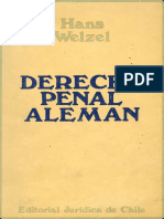 935 Welzel - Derecho Penal Alemán