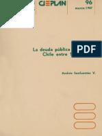 La deuda pública externa de Chile entre 1818 y 1935
