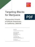 Targeting Blacks for Marijuana 06-29-10 (2)
