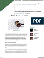 Lei de Proteção Aos Dados Pessoais