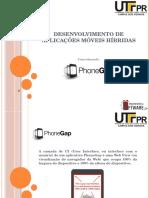 Desenvolvimento de Aplicações Móveis Híbridas - 2