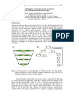 Factores Que Afectan La Reproducción en Diatomeas