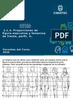 Estudio de La Figura Humana. Frente,p.3-4