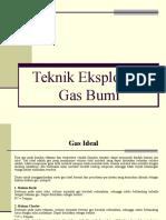 Teknik Eksploitasi Gas Bumi (Materi Kuliah)