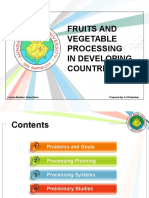 2. FAV Processing in Developing Countries