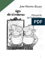 Bonet Jose Vicente - Se Amigo De Ti Mismo.pdf