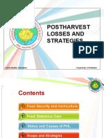 1. Postharvest Losses and Strategies