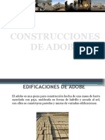 Edificaciones de Adobe 1