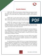 Internship Report on Shaukatkhanam HR Department