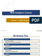 Web Analytics Session 1