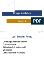 Google Analytics Session 3