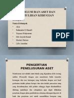PENELUSURAN ASET DAN PEMULIHAN KERUGIAN (KELOMPOK 6).pptx