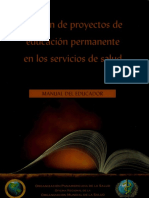 Gestión de Proyectos de Educación Permanente en Los Servicios de Salud (1)