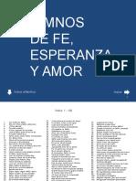 FE, ESPERANZA Y AMOR.ppsx