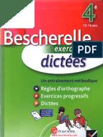 Bescherelle Exercices Et Dict 233 Es 4e