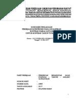 SBD Preservasi Rehabilitasi Jalan Polewali-Tabone-Malabo (Longsoran) Ok