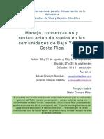 manejo conservacion y restauracion de suelos bajo
