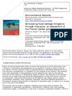 Stimulating Flood Damage Mitigation Through Insurance an Assessment of the French CatNat System. Environmental Hazards 12.