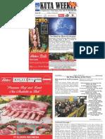 "Kuta Weekly - Edition 542 ""Bali's Premier Weekly Newspaper"""