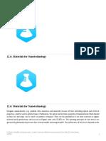 12.6- Materials for Nanotechnology